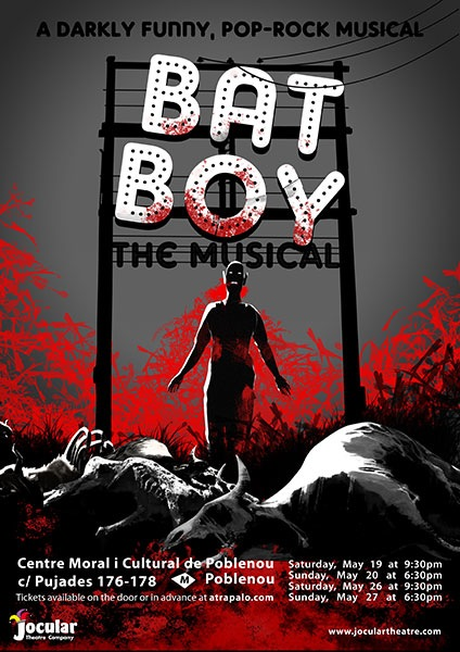 Batboy the musical - poster